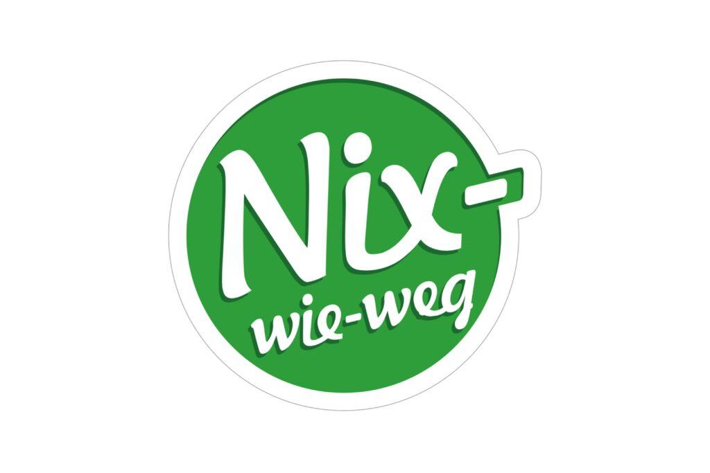 Logo Nix-wie-weg - Referenz